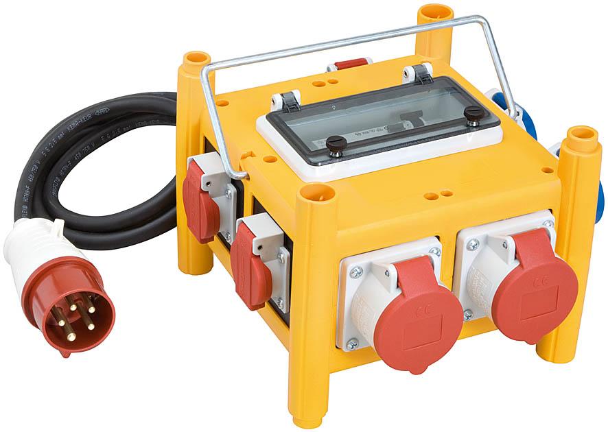 Brennenstuhl Stromverteiler BSV 3-FI/16 IP44