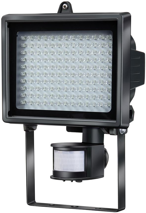 brennenstuhl led leuchte l130 pir ip44 mit infrarot bewegungsmelder 7 9w 560lm. Black Bedroom Furniture Sets. Home Design Ideas