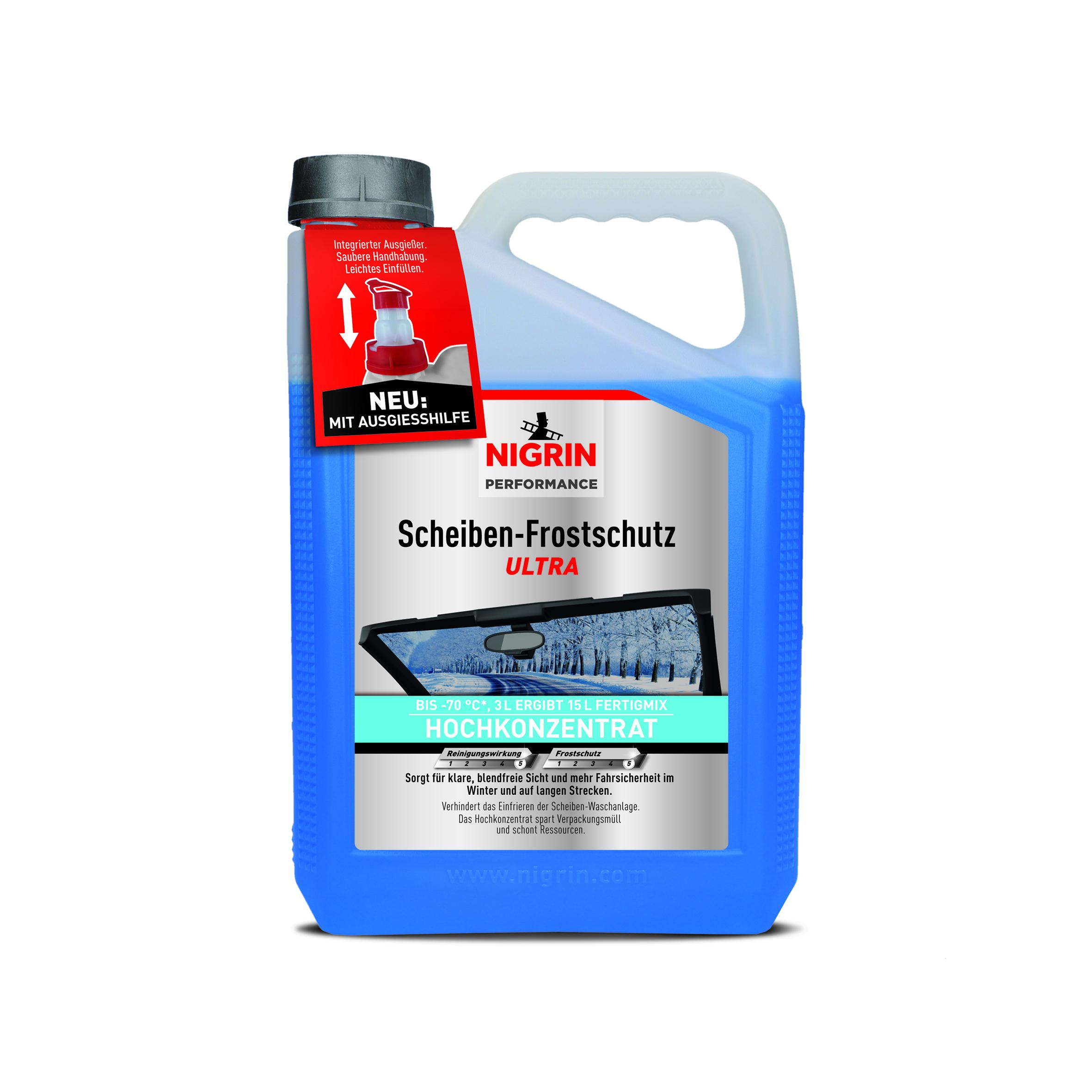 NIGRIN Performance Scheiben-Frostschutz Ultra -70°C 3 Liter