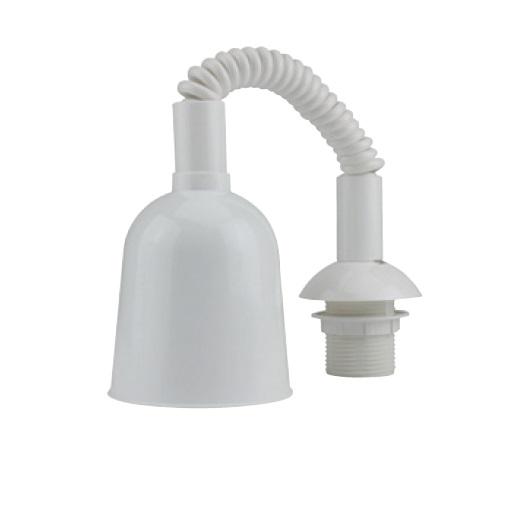 Unitec Lampenzugpendel mit Fassung E27, weiß