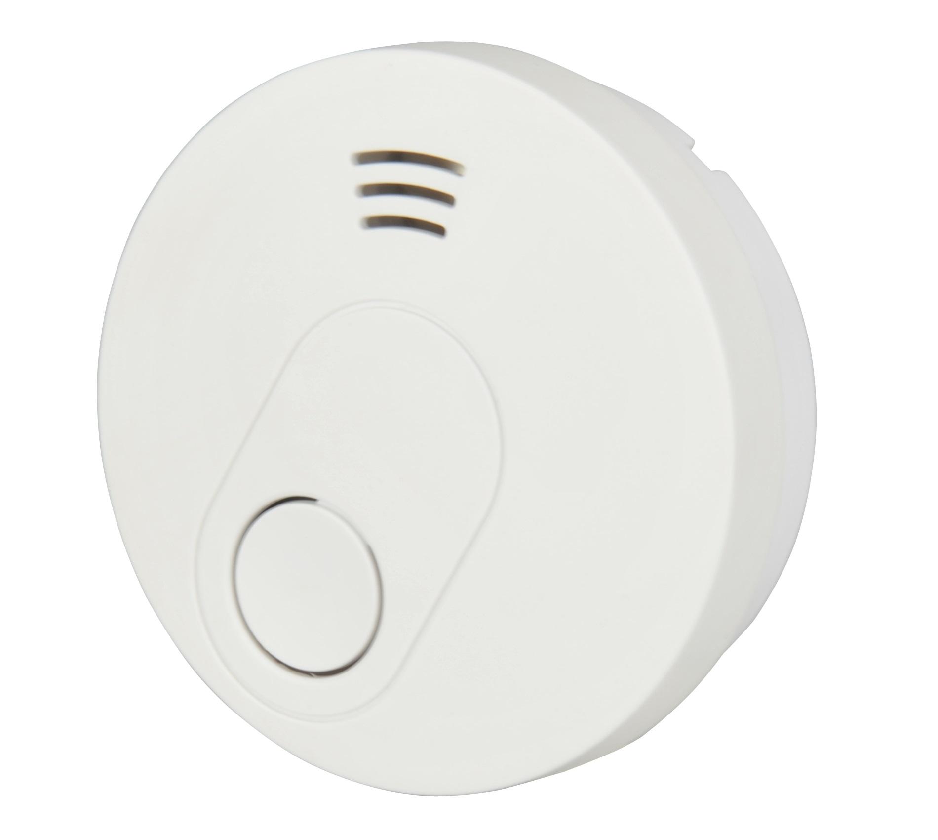 Unitec Rauchwarnmelder fotoelektrisch (VdS-Norm 3131), weiß