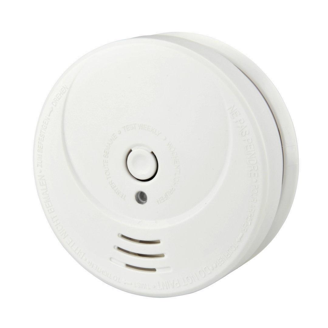 Unitec Rauchwarnmelder fotoelektrisch (TÜV-geprüft), weiß