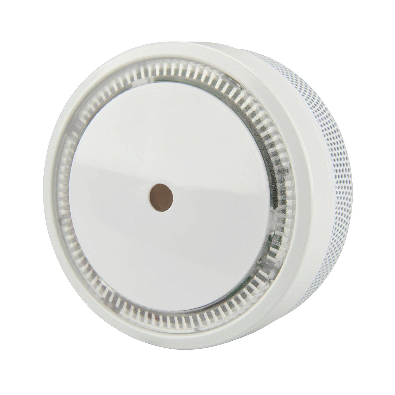 Unitec Mini-Rauchwarnmelder fotoelektrisch (VdS-Norm 3131), weiß