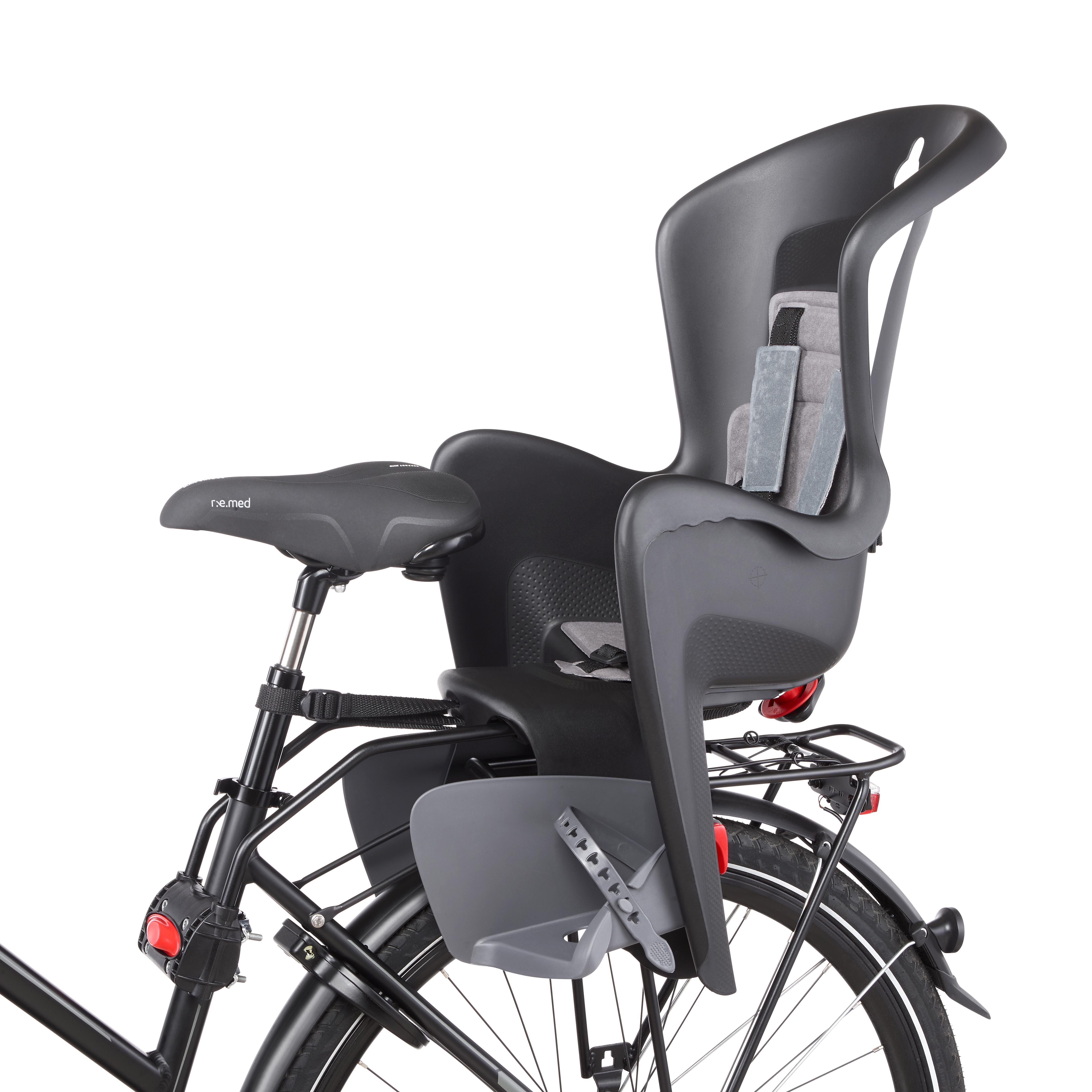 """POLISPORT Fahrrad-Kindersitz Bilby für 26-28"""", für Kinder bis 22kg"""