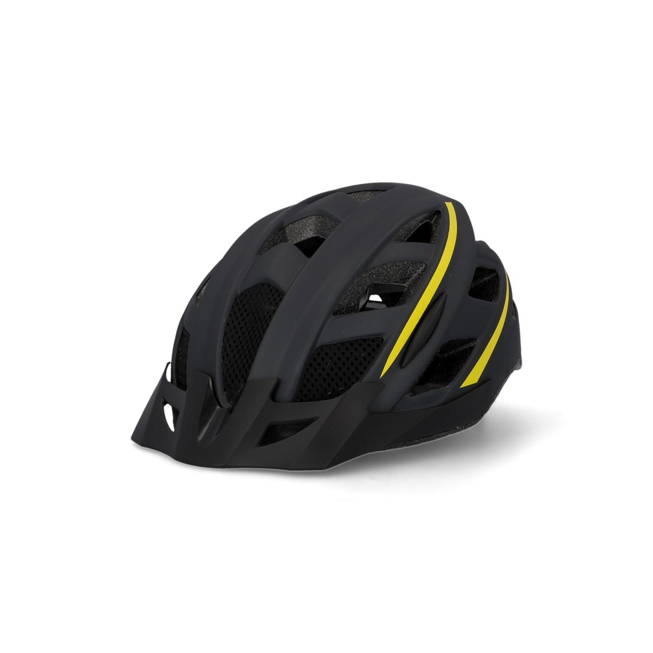 FISCHER Fahrradhelm Urban Montis schwarz (Größe S/M)