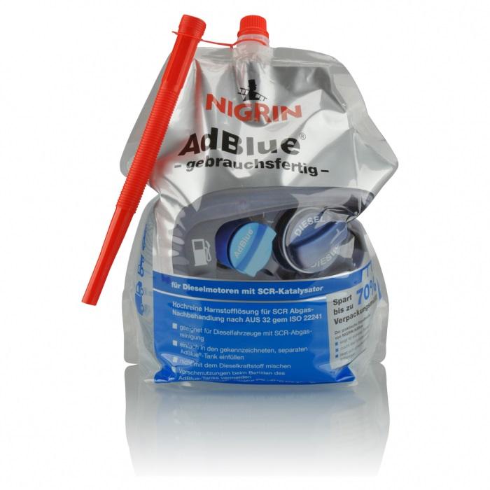 NIGRIN AdBlue Standbeutel (5 Liter)