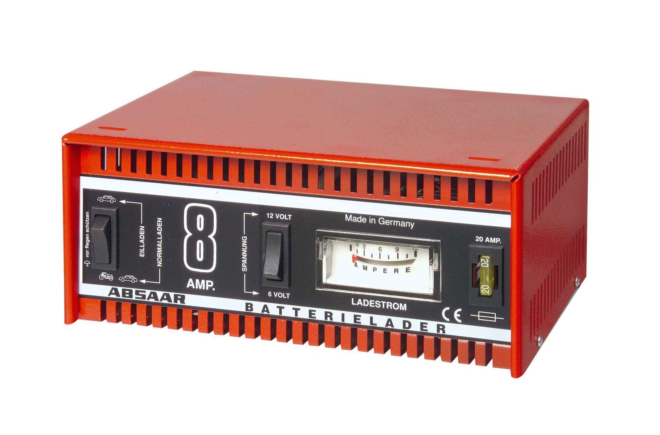 absaar batterie ladeger t 6 12v 8a tectron. Black Bedroom Furniture Sets. Home Design Ideas
