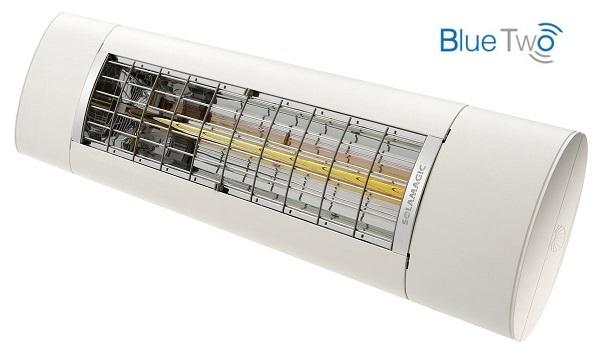 SOLAMAGIC S2 Premium-Infrarotstrahler, Bluetooth Steuerung, 2.5 kW, weiß, IP65