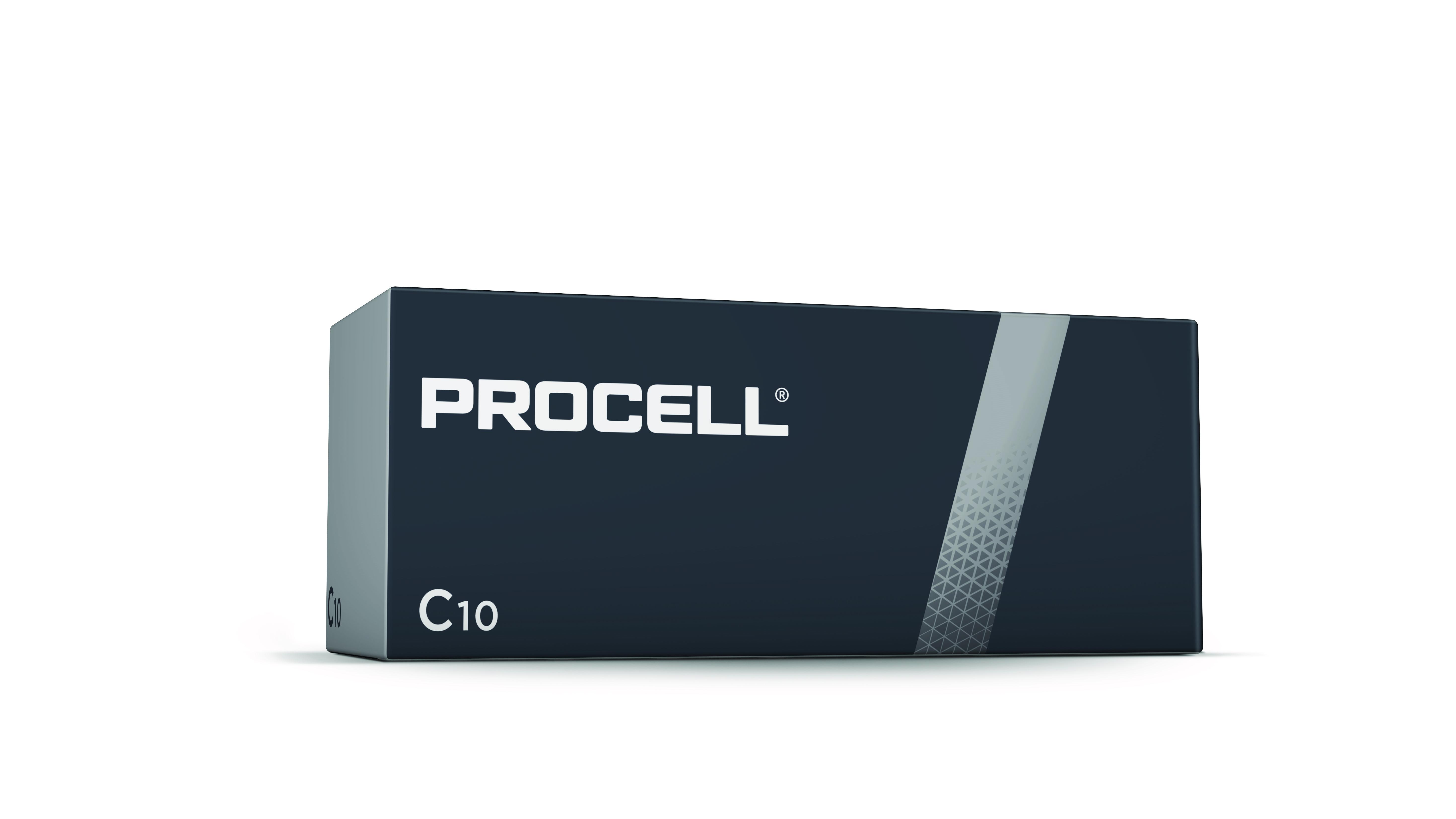 Duracell Procell LR14 C/Baby Batterie (Alkaline), 10-er Pack