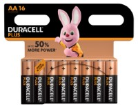 Duracell Plus Power LR6 AA/Mignon Batterie (Alkaline), 16-er Blister