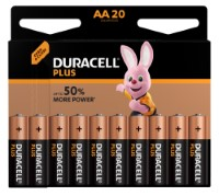Duracell Plus Power LR6 AA/Mignon Batterie (Alkaline), 20-er Blister