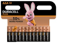 Duracell Plus Power LR03 AAA/Micro Batterie (Alkaline), 12-er Blister