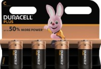Duracell Plus Power LR14 C/Baby Batterie (Alkaline), 4-er Blister