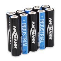 Ansmann AAA Batterie Industrial (Lithium), AAA/Micro 10-er Pack