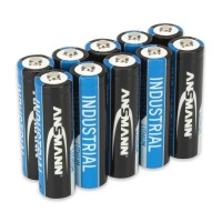 Ansmann AA Batterie Industrial (Lithium), AA/Mignon 10-er Pack
