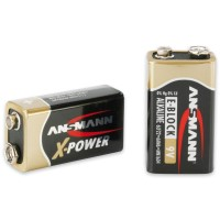 Ansmann 6LR61 Batterie X-Power (Alkaline), 9V-Block