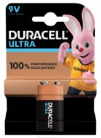 Duracell 6LR61 Batterie Ultra Power (Alkaline), 9V-Block 1-er Blister