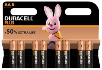 Duracell Plus Power LR6 AA/Mignon Batterie (Alkaline), 8-er Blister