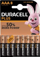Duracell Plus Power LR03 AAA/Micro Batterie (Alkaline), 8-er Blister