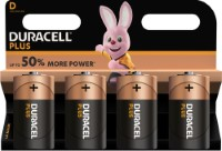 Duracell Plus Power LR20 D/Mono Batterie (Alkaline), 4-er Blister