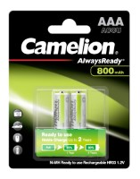 Camelion Akku HR03 Micro (Always Ready To Use) 800mAh NiMH 2-er Blister (vorgeladen)
