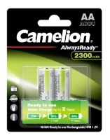 Camelion Akku HR6 Mignon (Always Ready To Use) 2.300mAh NiMH 2-er Blister (vorgeladen)