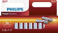 Philips LR6 Batterie Powerlife (Alkaline), AA/Mignon 12-er Blister